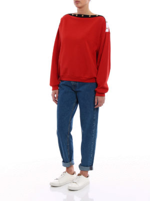 Philosophy di Lorenzo Serafini: Sweatshirts & Sweaters online - Cotton buttoned sweatshirt