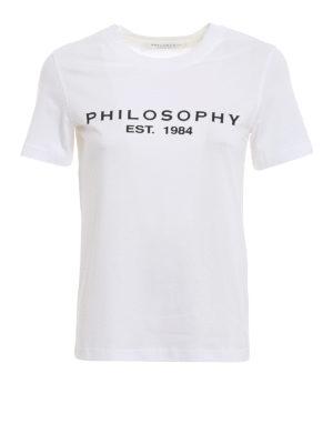 Philosophy di Lorenzo Serafini: t-shirt - T-shirt in cotone con logo