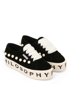 Philosophy di Lorenzo Serafini: trainers online - Superga x Philosophy pearl sneakers