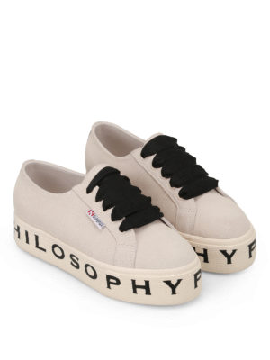 Philosophy di Lorenzo Serafini: trainers online - Superga x Philosophy suede sneakers