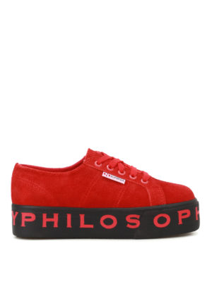 Philosophy di Lorenzo Serafini: trainers - Superga x Philosophy sneakers