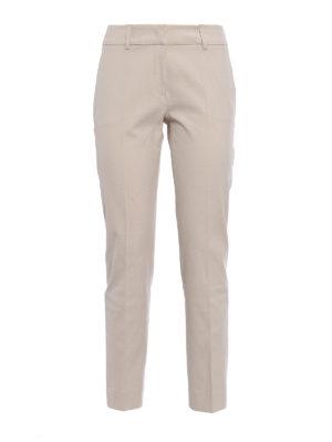 Piazza Sempione: casual trousers - Kim cotton trousers