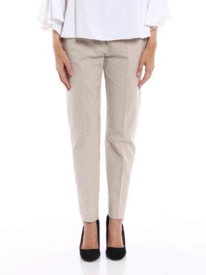Piazza Sempione: casual trousers online - Kim cotton trousers