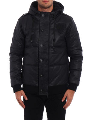 Pierre Balmain: padded jackets online - Padded hooded jacket