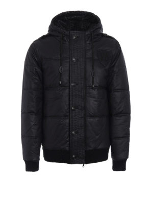 Pierre Balmain: padded jackets - Padded hooded jacket