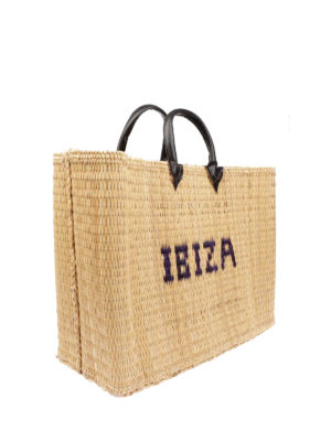 PINK MEMORIES: shopper online - Shopper in paglia Ibiza