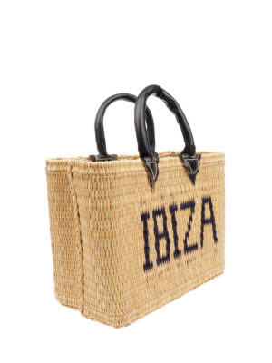 PINK MEMORIES: shopper online - Borsa in paglia Ibiza mini