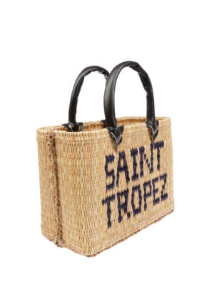 PINK MEMORIES: shopper online - Borsa in paglia Saint Tropez mini
