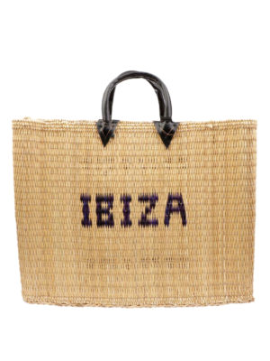 PINK MEMORIES: shopper - Shopper in paglia Ibiza
