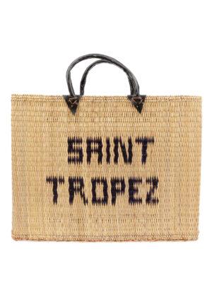 PINK MEMORIES: shopper - Shopper in paglia Saint Tropez