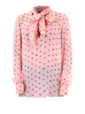 e04bdf74e9b12 Pinko  bluse - Blusa Delizioso in georgette stampata