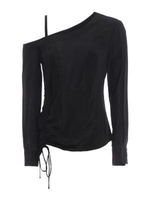 Pinko: blouses - Diana silk crepe de chine blouse