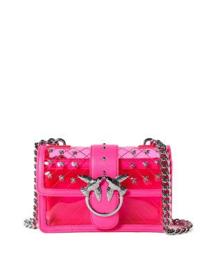 Pinko  borse a tracolla - Love Bag mini rosa 49bc0d95bd9