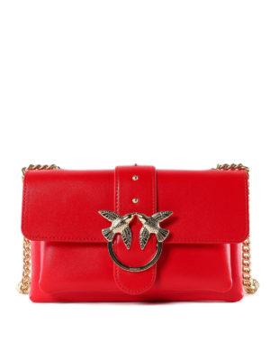 e8130633675c Pinko  borse a tracolla - Love Bag Mini rossa