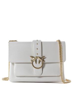 Pinko  borse a tracolla - Love Bag Simply bianca ffc2cd3cbf2