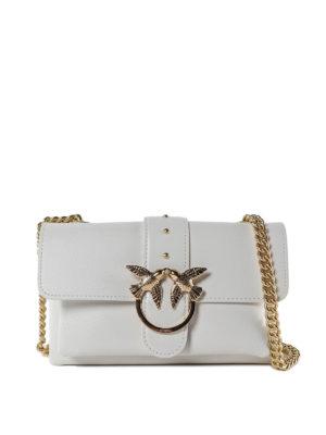 Pinko  borse a tracolla - Love Bag Mini bianca cb1728d59d8