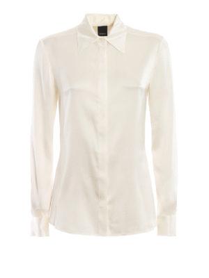 b827e084a6ea6 Pinko: camicie - Camicia Amazing in raso di seta stretch