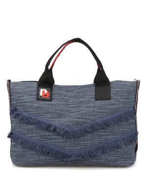 Tracolla nera Love Simply piccola. 255.00 €. Pinko  shopper - Shopper  Chimera in tessuto denim 91037e1c34b