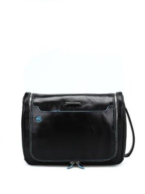 PIQUADRO: custodie e cover - Beauty case nero ultra accessoriato