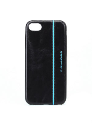 PIQUADRO: custodie e cover - Custodia nera per iPhone®7 e iPhone®8 4