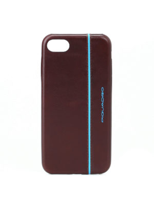 PIQUADRO: custodie e cover - Custodia marrone per iPhone®7 e iPhone®8 4