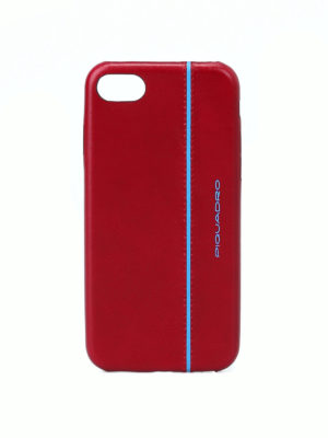 PIQUADRO: custodie e cover - Custodia rossa per iPhone®7 e iPhone®8 4