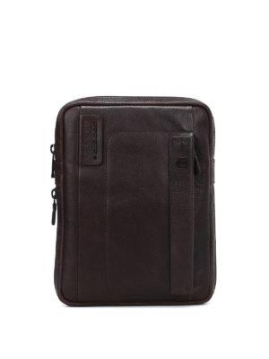 PIQUADRO: borse a tracolla - Borsa a tracolla porta iPad marrone