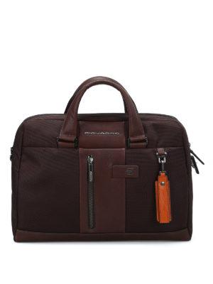 PIQUADRO: borse da ufficio - Borsa in tessuto impermeabile