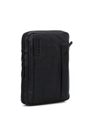 PIQUADRO: borse a tracolla online - Borsa a tracolla porta iPad nera