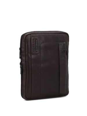 PIQUADRO: borse a tracolla online - Borsa a tracolla porta iPad marrone