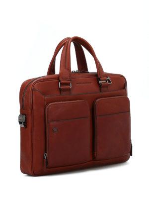 PIQUADRO: borse da ufficio online - Borsa da computer in pelle pregiata