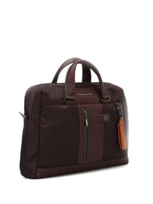 PIQUADRO: borse da ufficio online - Borsa in tessuto impermeabile