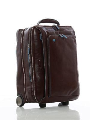 PIQUADRO: Borse da viaggio online - Bagaglio da cabina color mogano
