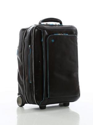 PIQUADRO: Borse da viaggio online - Bagaglio da cabina in morbida pelle