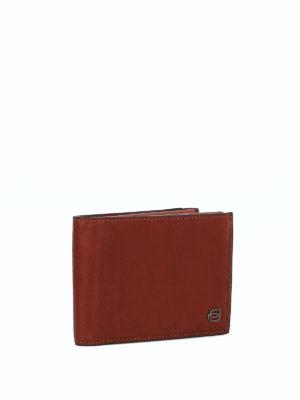PIQUADRO: portafogli online - Portafoglio in pelle con antifrode