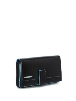 PIQUADRO: portafogli online - Portafoglio multi tasche nero