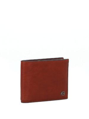 PIQUADRO: portafogli online - Portafoglio in pelle marrone