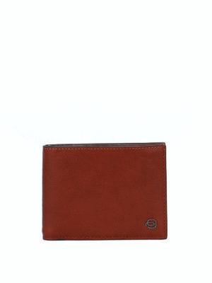 PIQUADRO: portafogli - Portafoglio in pelle color cuoio
