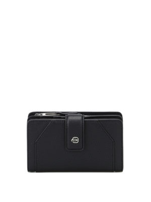 PIQUADRO: portafogli - Portafoglio in pelle con portamonete