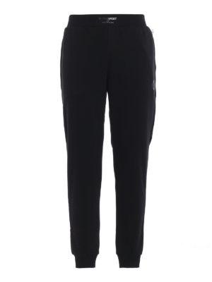 PLEIN SPORT: pantaloni sport - Pantaloni della tuta Brushed
