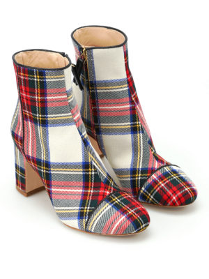Polly Plume: ankle boots online - Ally tartan booties