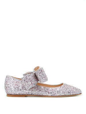 Polly Plume: flat shoes - Bonnie Bow sparkling flat shoes