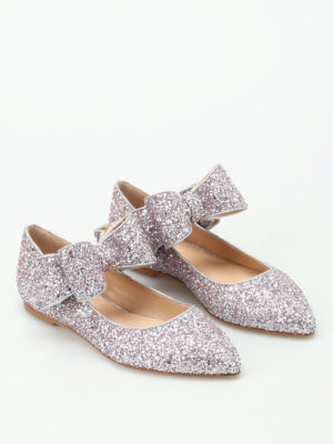 Polly Plume: flat shoes online - Bonnie Bow sparkling flat shoes