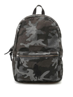 Polo Ralph Lauren: backpacks - Camu cotton backpack