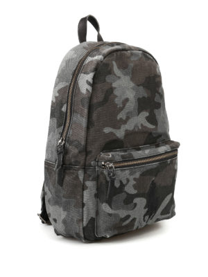 Polo Ralph Lauren: backpacks online - Camu cotton backpack