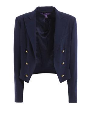 Polo Ralph Lauren: blazers - Embellished wool blazer