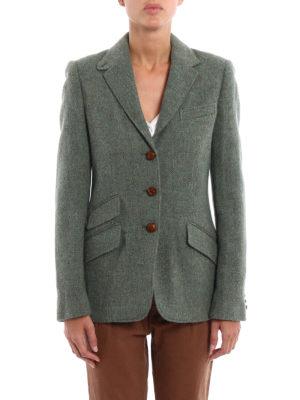 Polo Ralph Lauren: blazers online - Wool and alpaca unstructured blazer
