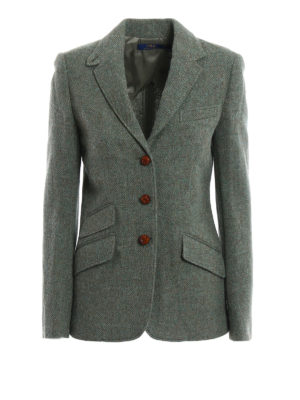 Polo Ralph Lauren: blazers - Wool and alpaca unstructured blazer