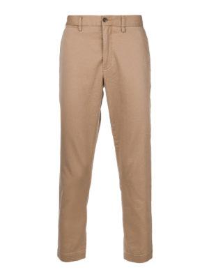 POLO RALPH LAUREN: pantaloni casual - Pantaloni beige in cotone