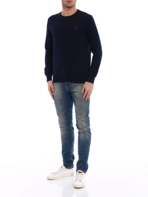Polo Ralph Lauren: crew necks online - Pima cotton crew neck sweater